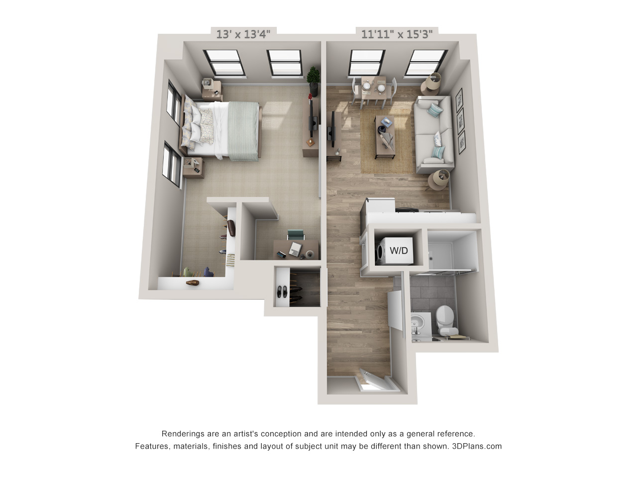 1 Bed apartment in Philadelphia