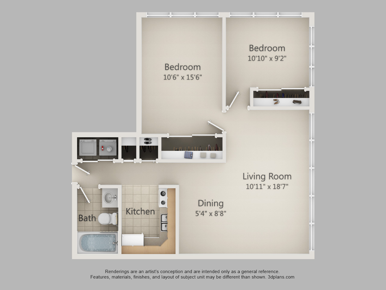 2 bedroom apartments in Allentown