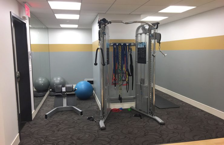 strength training and balls