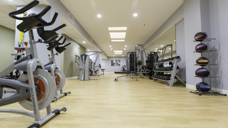 Fitness Center with ScullyFit Cardio Experience w/ Virtual Active
