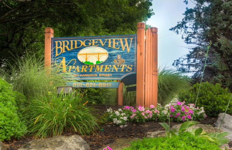 Bridgeview Apartments in Allentown, Pennsylvania
