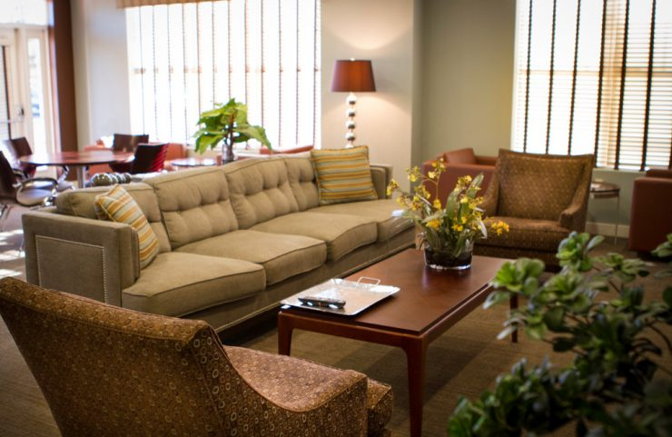 ample seating in community room