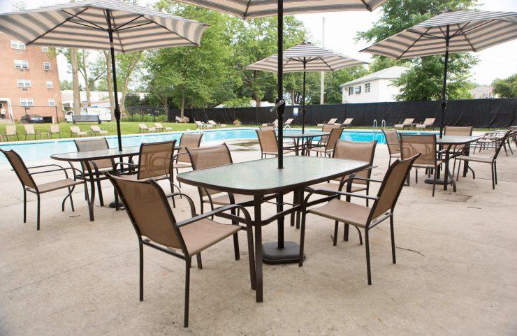 Horsham apartment with pool