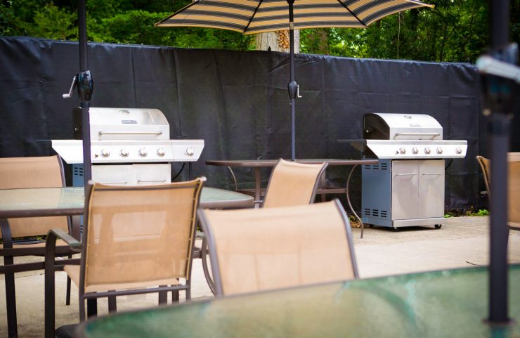 barbecue withe friends and family