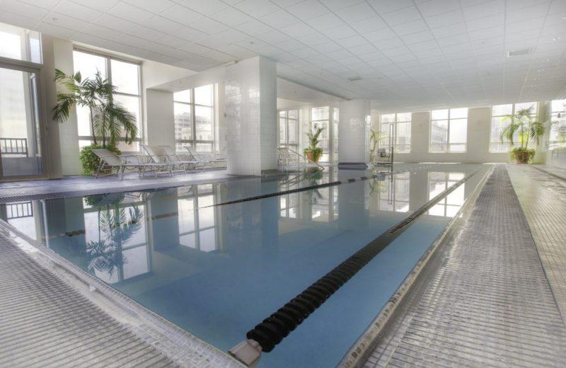 60' year-round pool