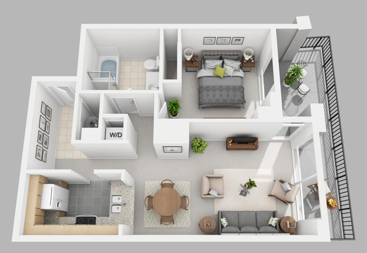 1 bedroom apartment in washington square
