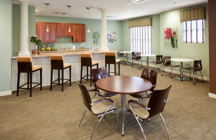 multipurpose recreation room