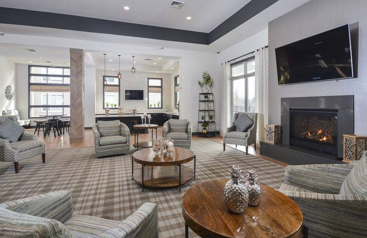 apartments in phoenixville with fireplace lounge