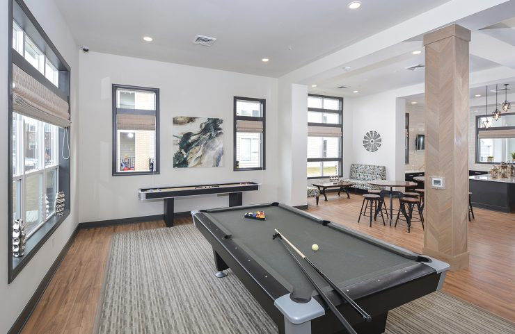apartments with game room