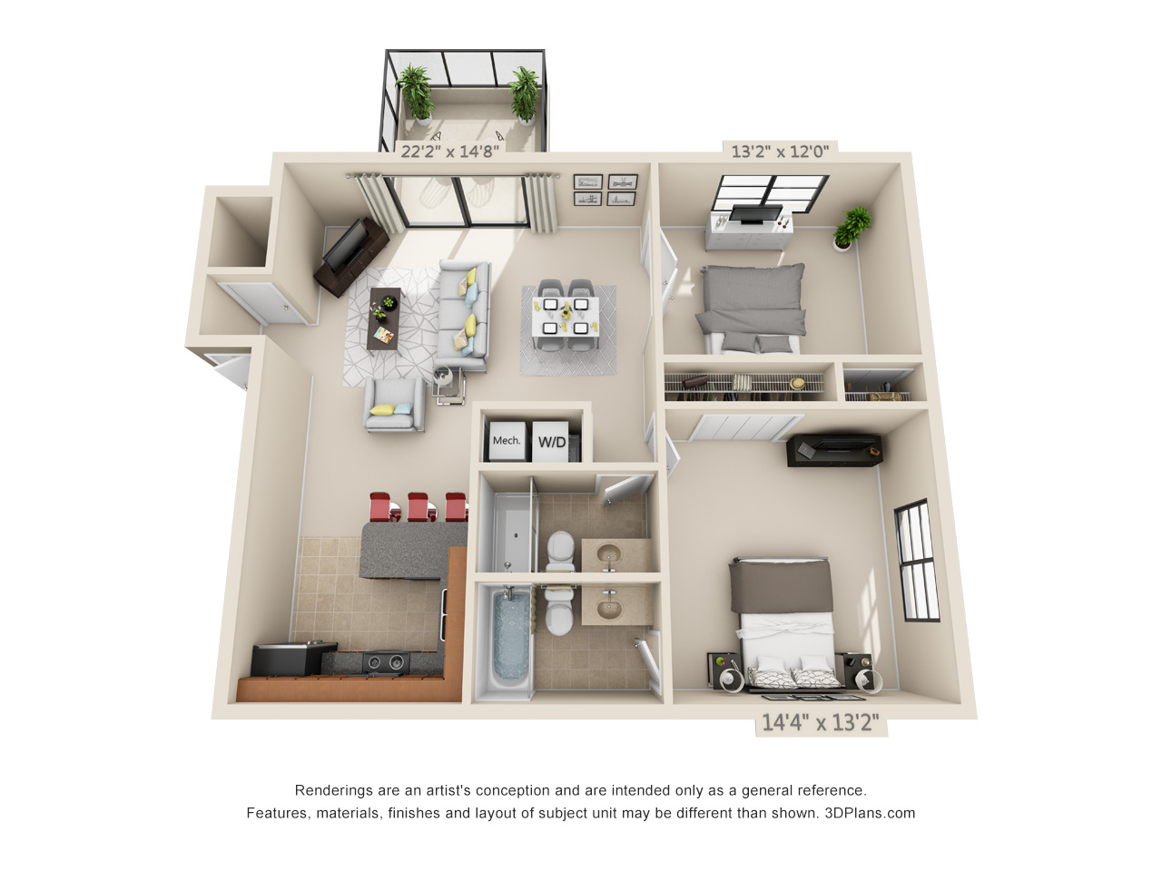 1 bedroom apartment in Boca Raton, FL