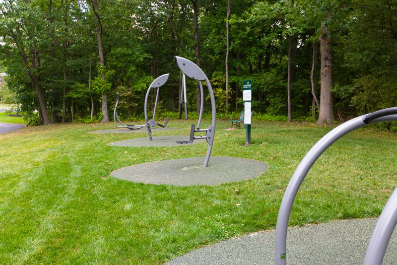 Outdoor Fitness Park - one of a kind!