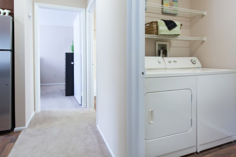 Washer and dryer in every apartment home