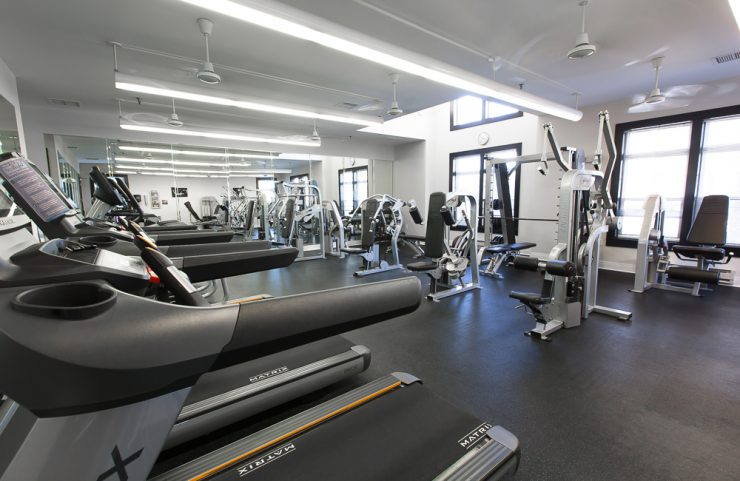 conshochocken apartment with gym