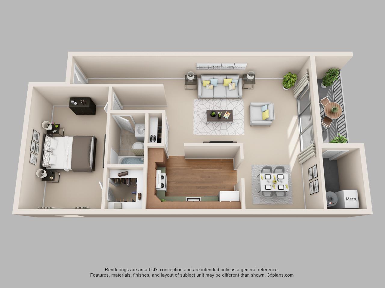 2 bedroom apartment in norristown