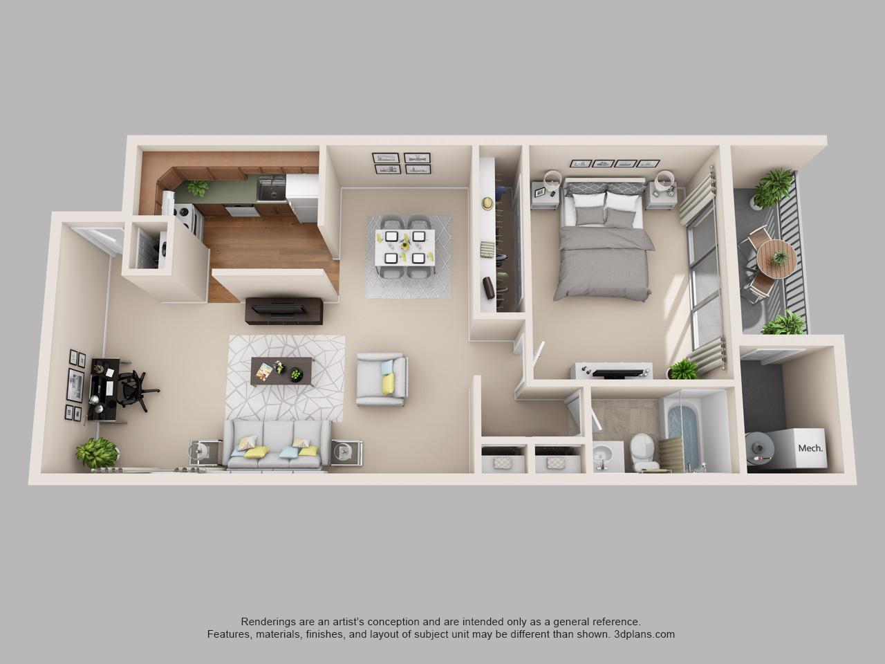 1 bedroom apartment in norristown