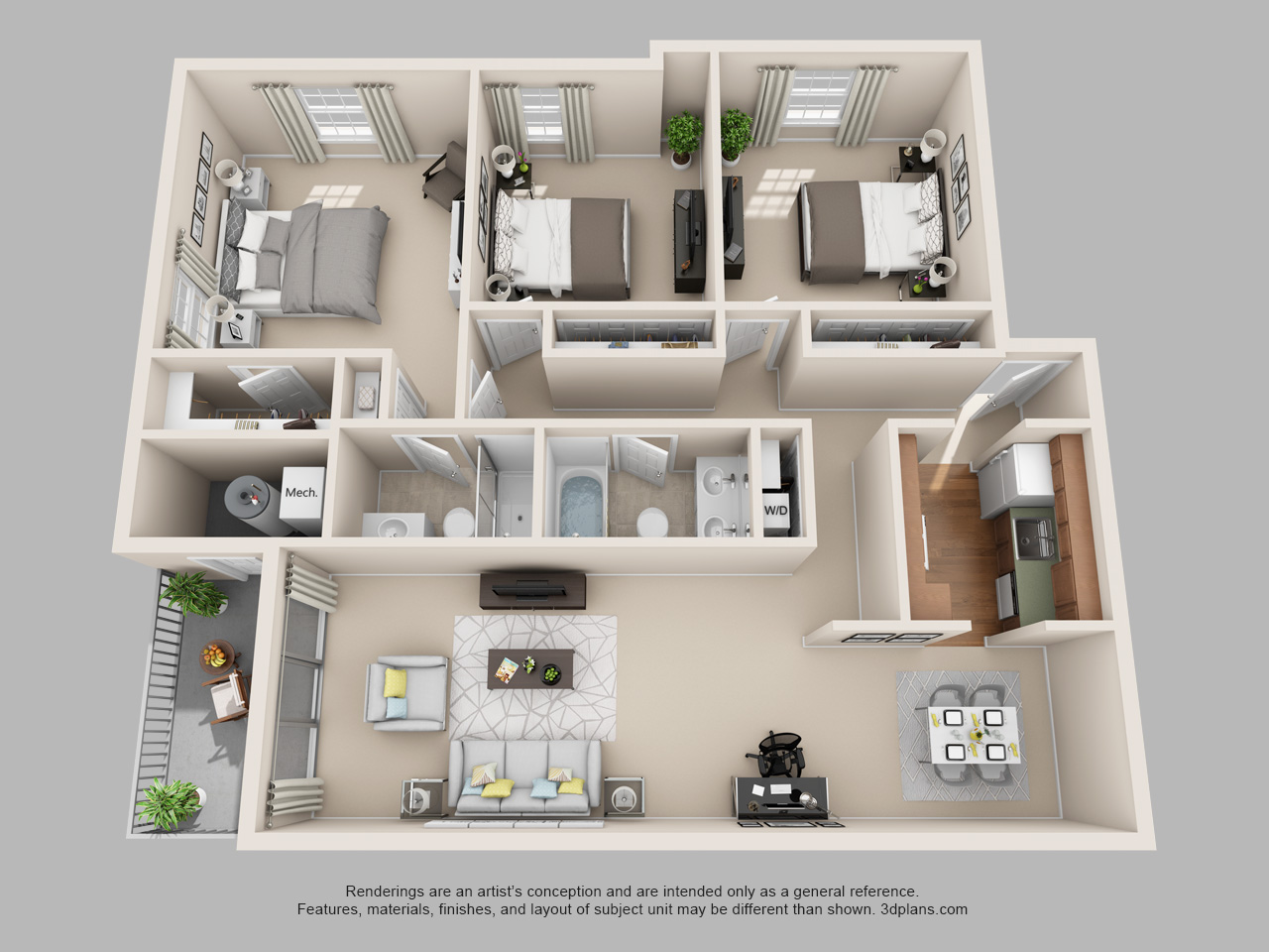 3 bedroom apartment in norristown