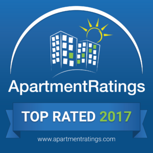 ApartmentRatings.com top rated award