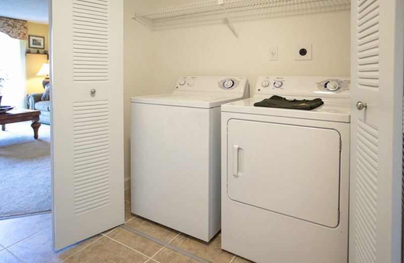 Washer and dryer in select apartment homes