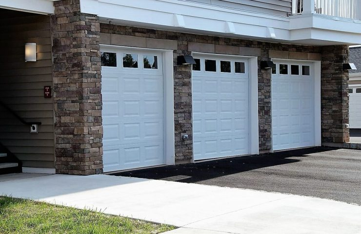 garage parking available for townhomes