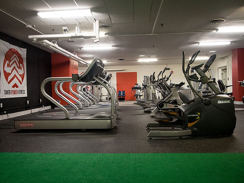 24 Hour Fitness Center with Weekly Fitness Classes