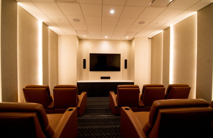 watch movies in apartments