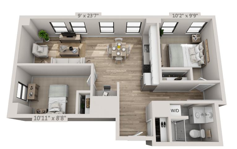 2 Bedroom Apartment In Philadelphia