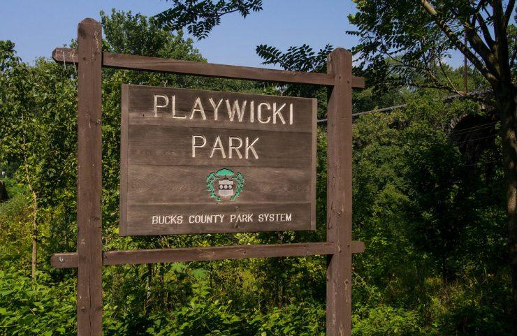 playwicki park sign
