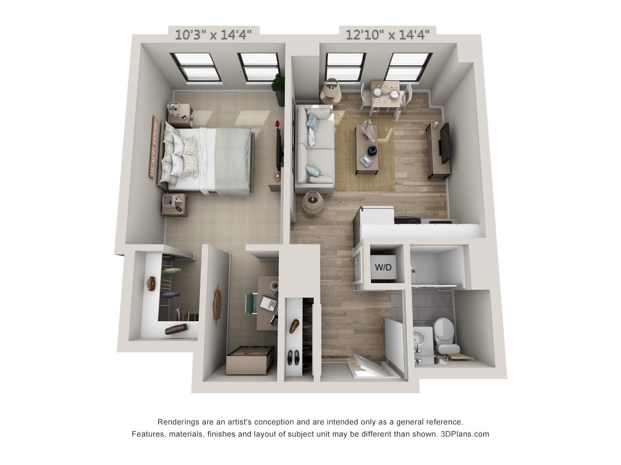 Groovy Apartments In Center City Philadelphia Modern Apartments Interior Design Ideas Gentotryabchikinfo