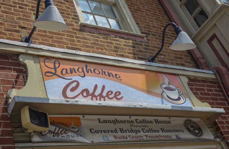langhorne coffee house entrance