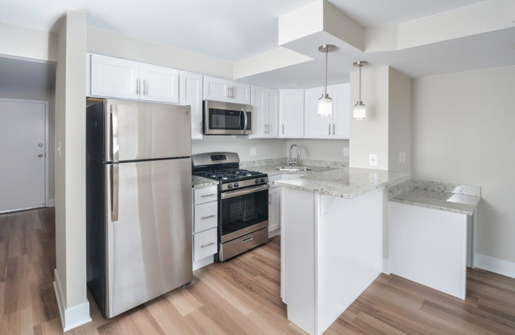 #1508 Penthouse open concept kitchen
