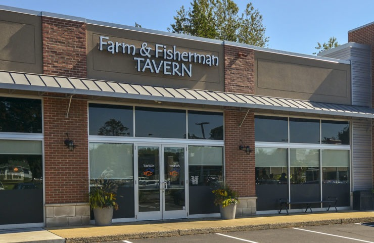 Nearby Restaurant: Farm & Fisherman Tavern