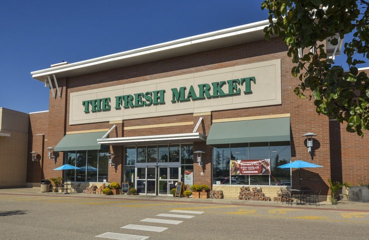 exterior of nearby the fresh market