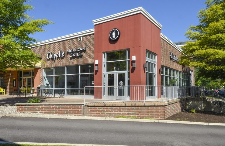 photo of exterior of nearby chipotle