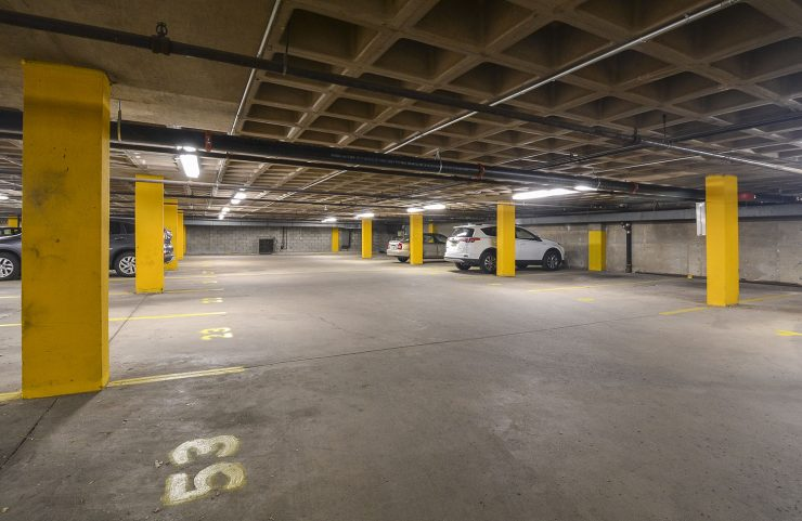 large garage for parking