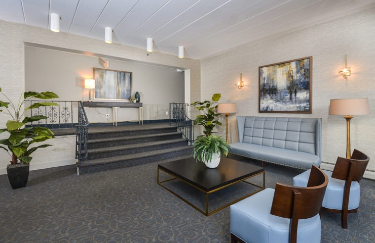 Inviting Lobby with seating