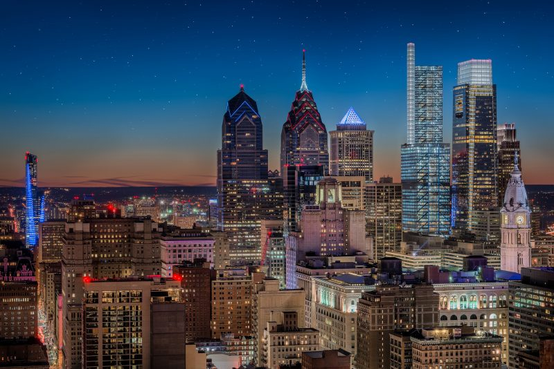 Amazing views of Philadelphia