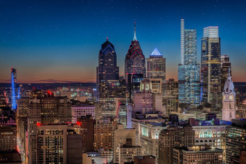Amazing views of Philadelphia