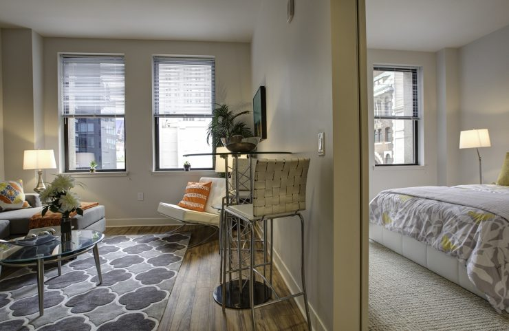 1 bedroom apartment in center city