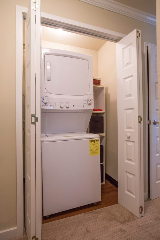 Washer & Dryer in ALL Apartments