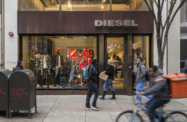 walkable to diesel fashion