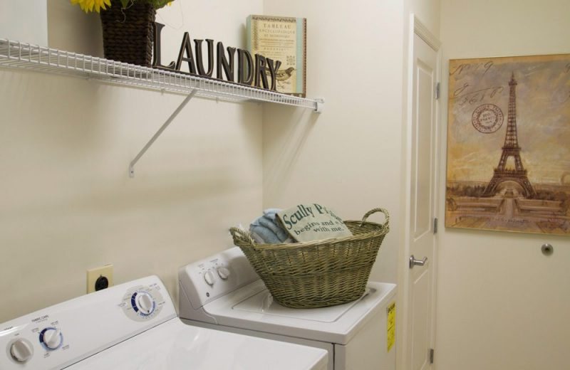 Full-size Washer / Dryer in select units