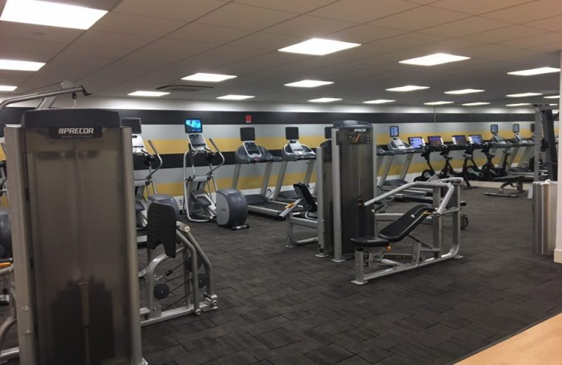 Wellness Floor Featuring a Yoga Studio, Cardio, Weights, TRX & Boxing