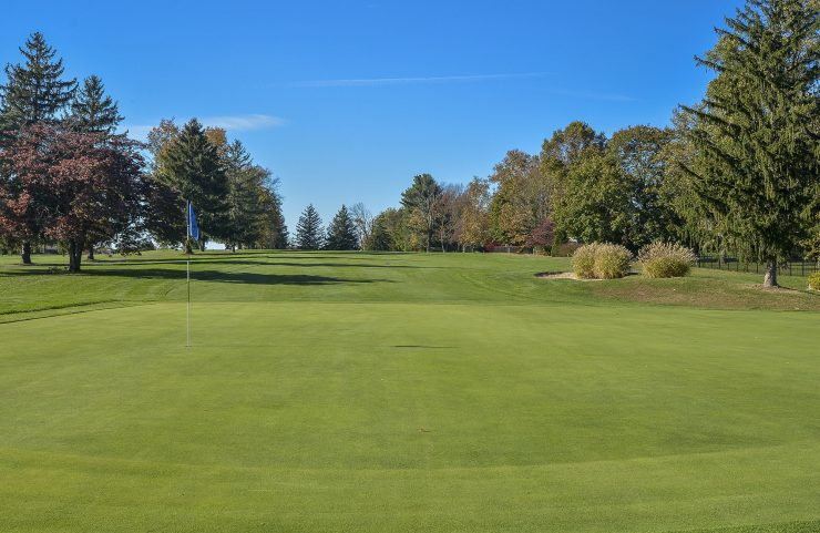 view of the westover golf course