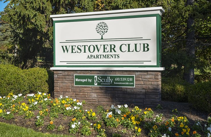 westover club signage