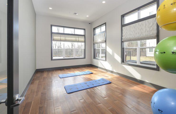 apartments with yoga studio