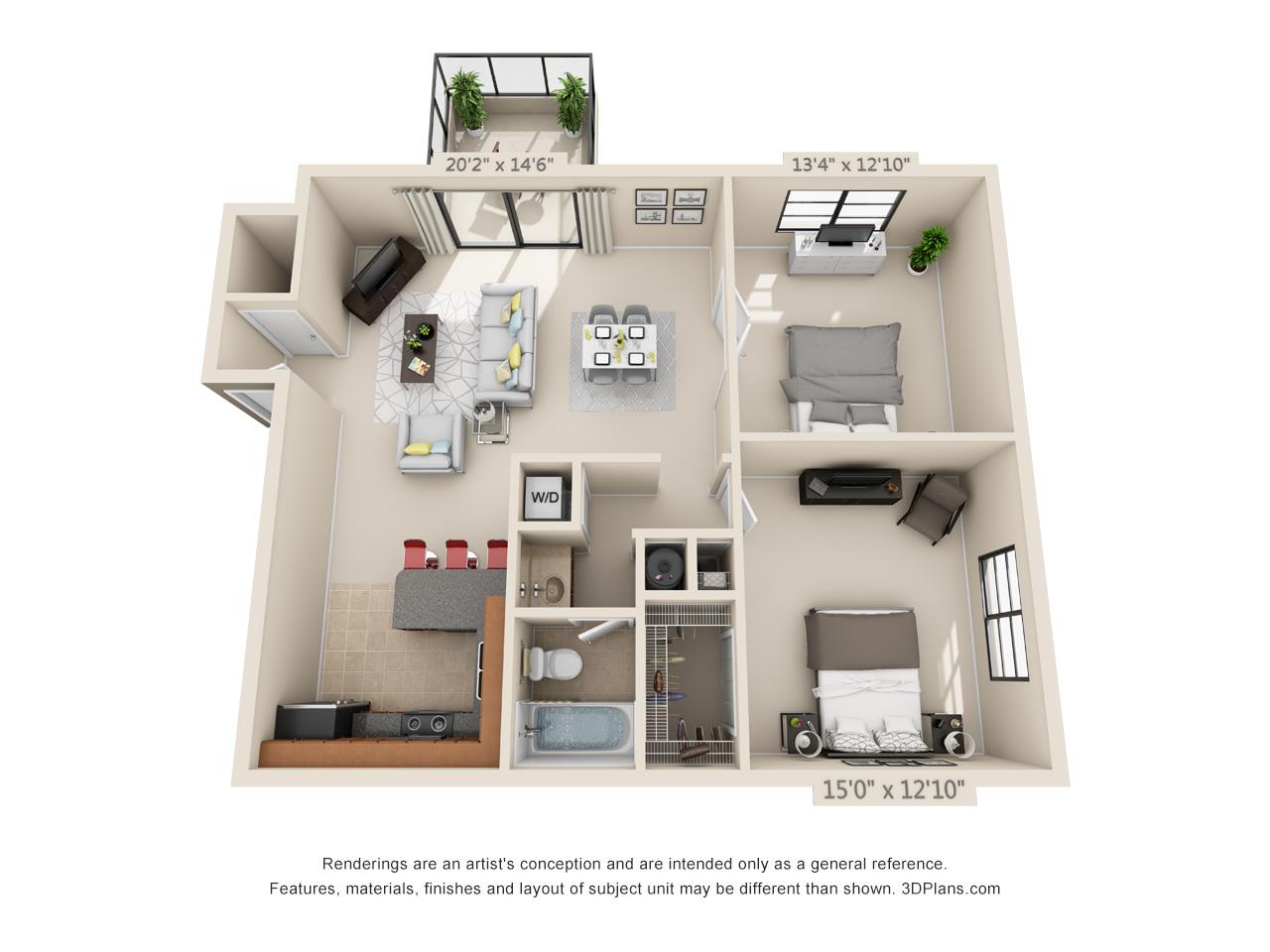 2 bedroom apartments in Boca Raton