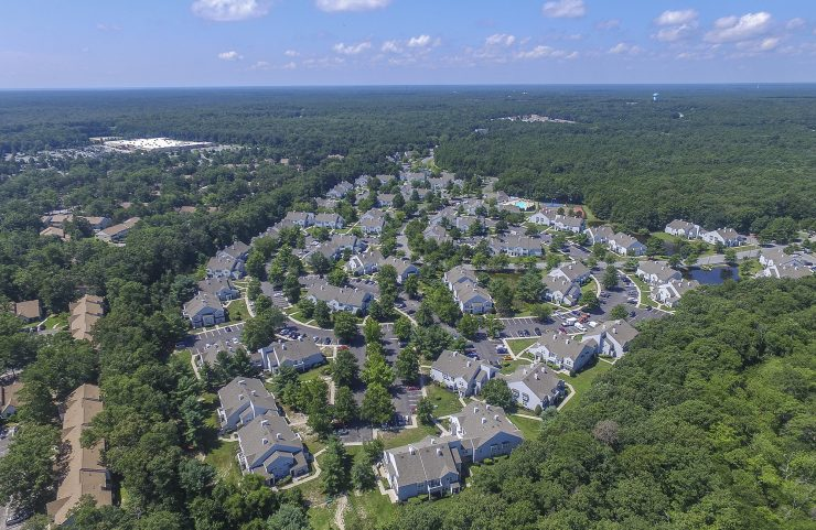 aerial view of hamilton greene