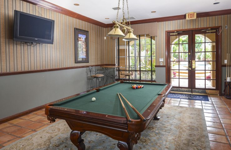 Billiard Room with TV