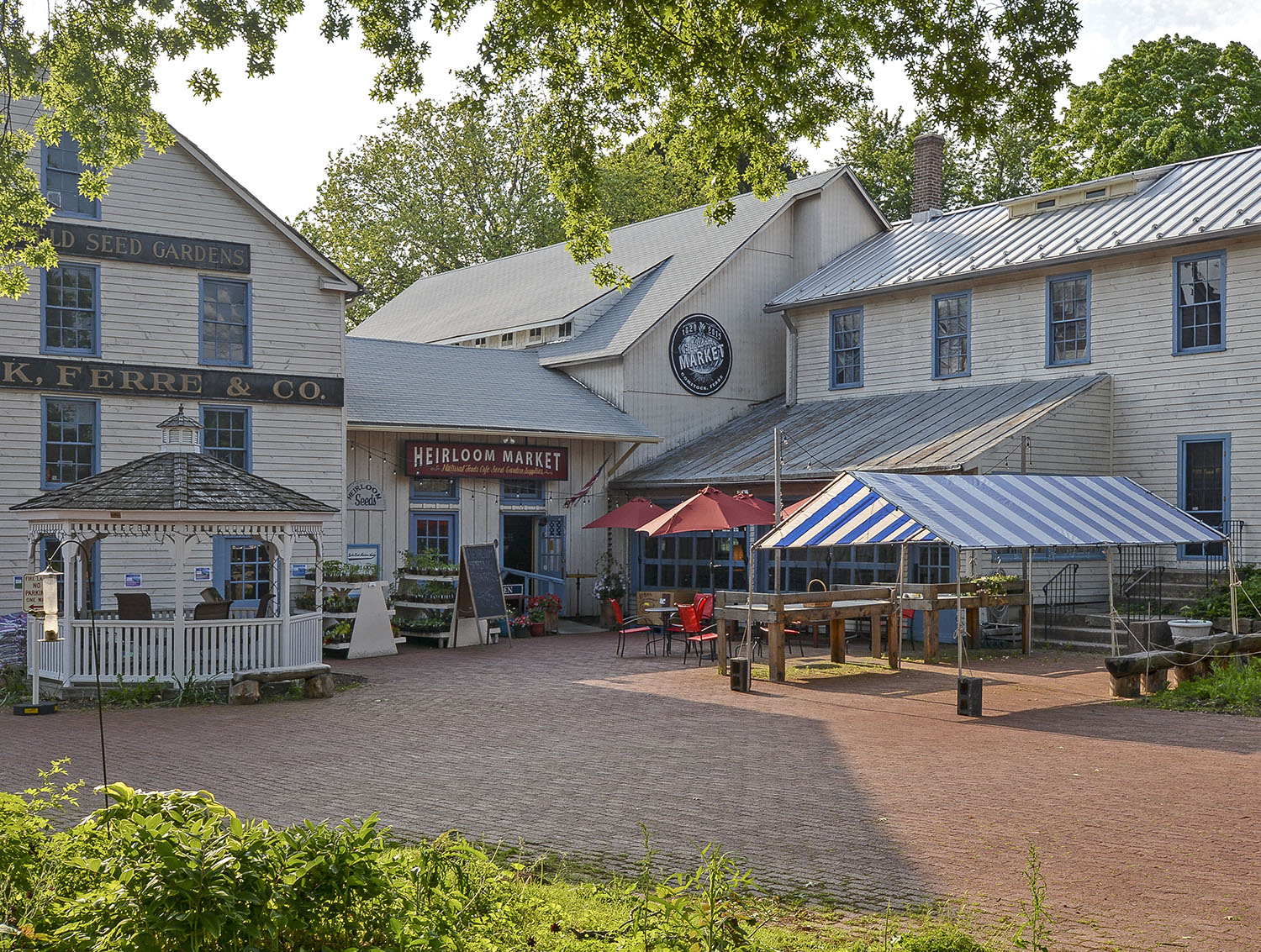 Nearby: Heirloom Market at Comstock Ferre