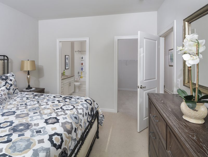 Bedrooms w/ Spacious Closets & Wall-To-Wall Carpets
